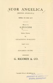 Cover of: Suor Angelica