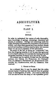 Cover of: Agricultural text-book