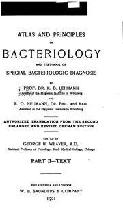 Cover of: Atlas and principles of bacteriology v.2