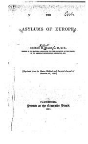 Cover of: The Asylums of Europe