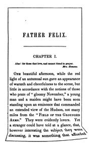 Cover of: Father Felix, by the author of 'Mora Carmody'