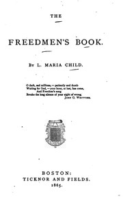 Cover of: The Freedmen's Book: By L. Maria Child