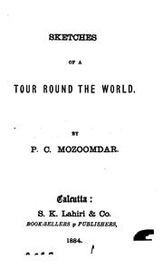 Cover of: Sketches of a tour round the world