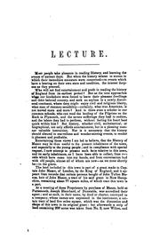 Cover of: The Substance of Two Lectures, on the History of Mason Delivered Before the Lyceum in Mason Village
