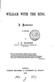 Cover of: William with the ring, a romance in rhyme