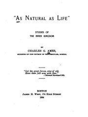"Cover of: ""As natural as life"""