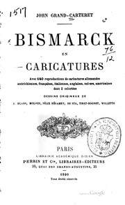 Cover of: Bismarck en caricatures