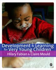 Cover of: Development & Learning for Very Young Children