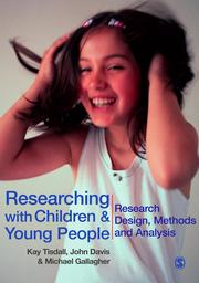 Cover of: Researching with Children and Young People