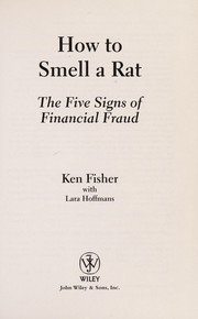 Cover of: How to smell a rat