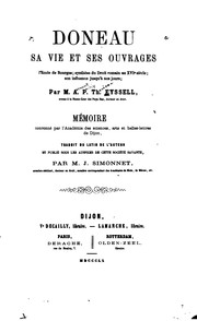 Cover of: Doneau, sa vie ouvrages