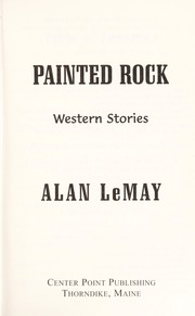 Cover of: Painted rock