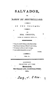 Cover of: Salvador, or, Baron de Montbelliard