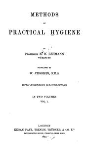 Cover of: Methods of practical hygiene v. 2