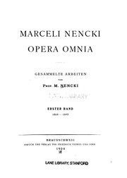 Cover of: Opera omnia v. 2