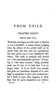 Cover of: From Exile