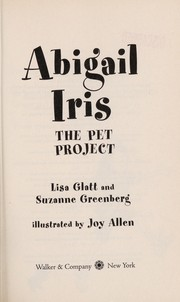 Cover of: Abigail Iris