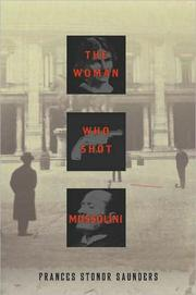 Cover of: The woman who shot Mussolini