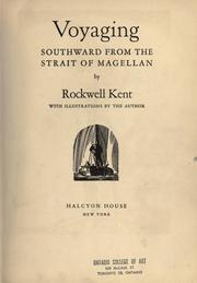 Cover of: Voyaging southward from the Strait of Magellan