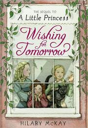 Cover of: Wishing for tomorrow