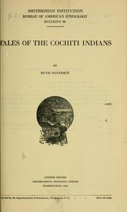 Cover of: Tales of the Cochiti Indians