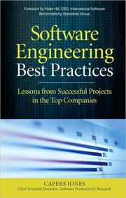 Cover of: Software engineering best practices