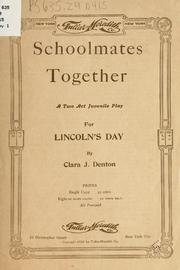 Cover of: Schoolmates Together