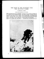 Cover of: The rush to the Klondike over the mountain passes