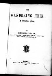 Cover of: The wandering heir