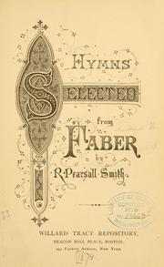 Cover of: Hymns selected from Faber