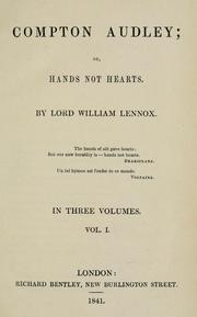 Cover of: Compton Audley; or, Hands not hearts
