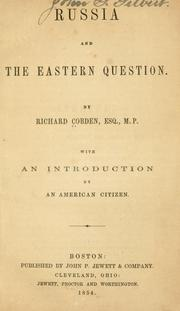 Cover of: Russia and the Eastern question