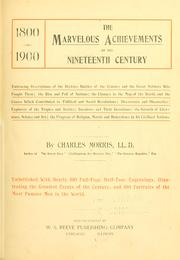 Cover of: The marvelous achievements of the nineteenth century ..