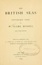 Cover of: The British seas: picturesque notes