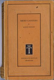 Cover of: Brief candles