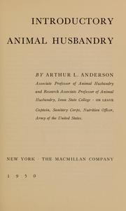 Cover of: Introductory animal husbandry