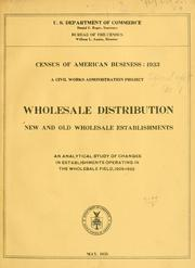 Cover of: Census of American business