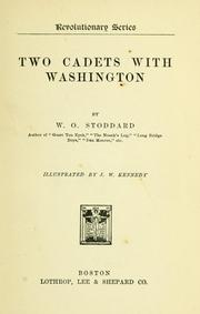 Cover of: Two cadets with Washington