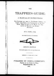 Cover of: The trapper's guide, a manual of instructions