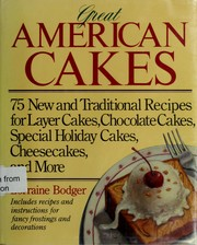Cover of: Great American cakes