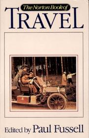 Cover of: The Norton book of travel