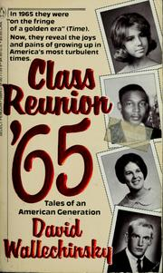 Cover of: Class reunion '65