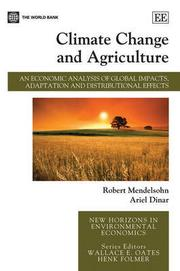Cover of: Climate change and agriculture