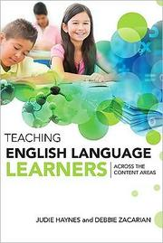 Cover of: Teaching English language learners across the content areas