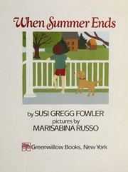 Cover of: When summer ends