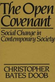 Cover of: The open covenant