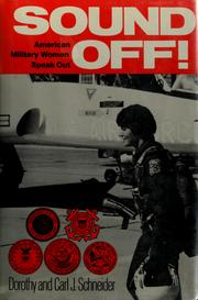 Cover of: Sound off!