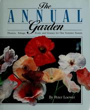 Cover of: The annual garden