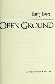 Cover of: Crossing open ground