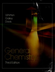 Cover of: General chemistry
